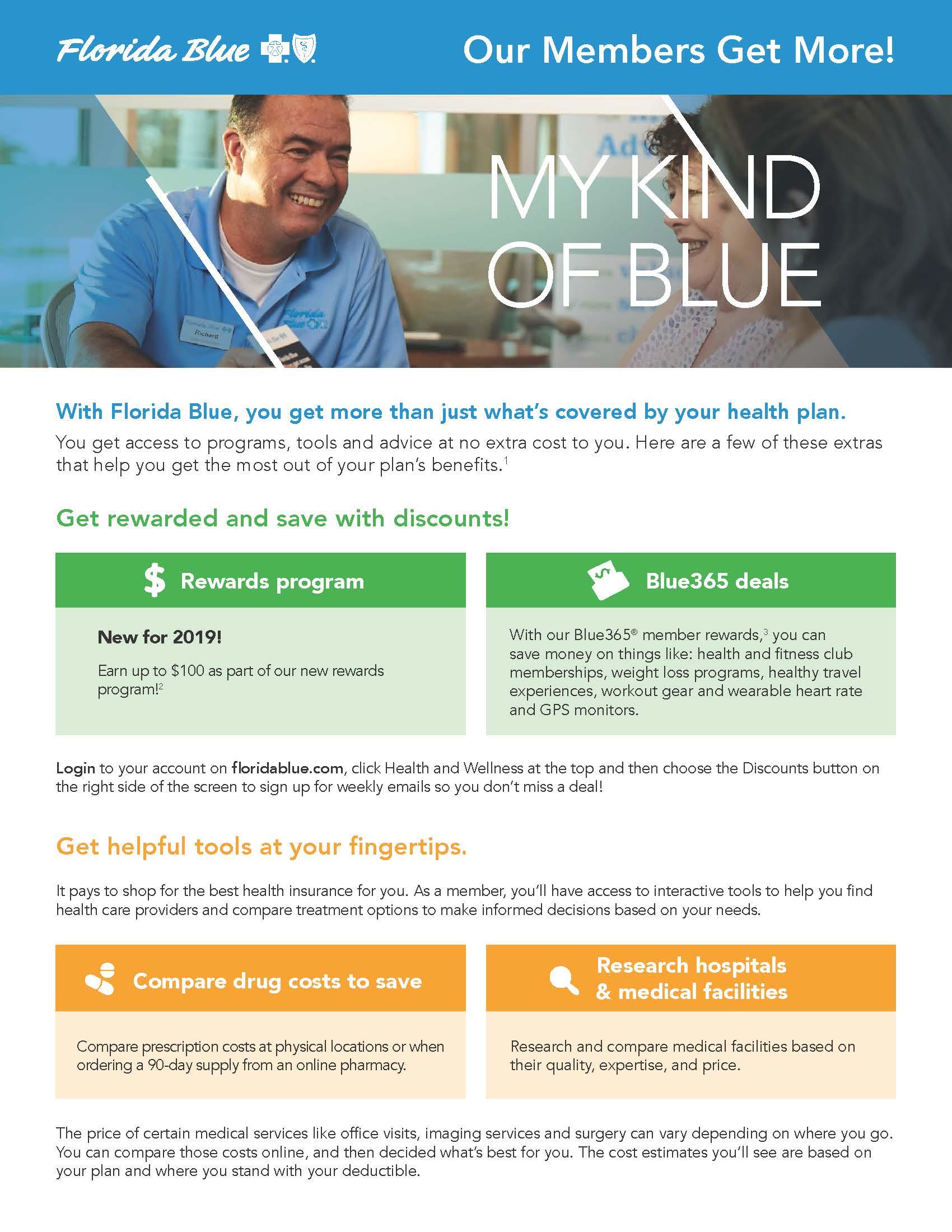 Florida Blue Members Get More