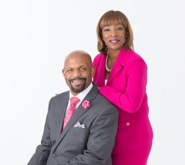 Dr. Cynthia Griffin, vice president of government pharmacy programs at Florida Blue, and her husband, the Rev. Mark Griffin of Wayman Temple AME Church.