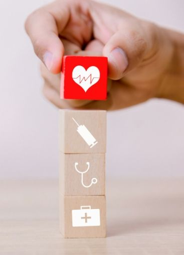 health care blocks